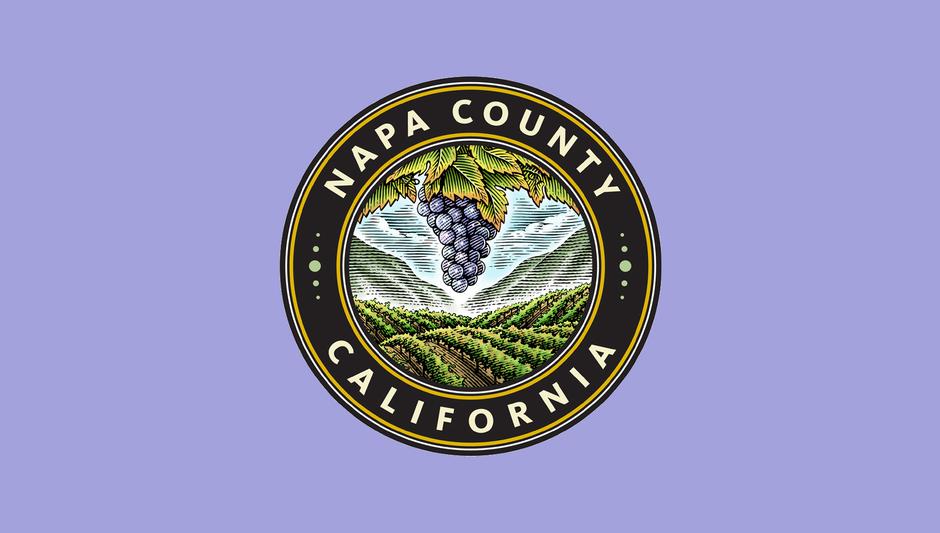 Napa county logo framed %281%29
