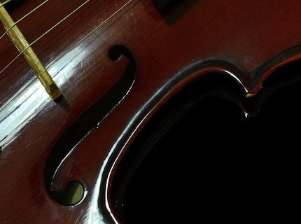 Stock violin avator cd