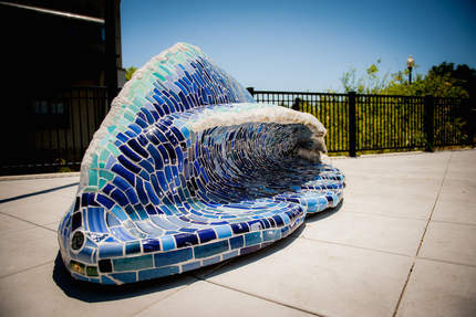 Wave bench 2015artwalk i8v inst1 058