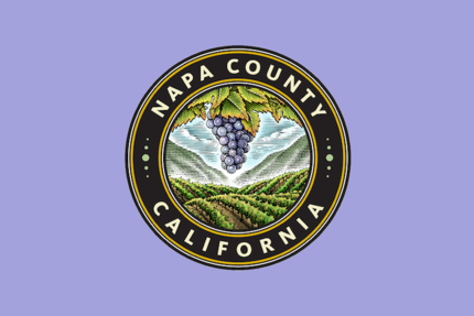 Napa county logo framed %281%29